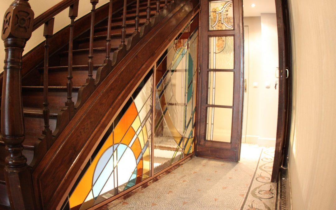 Une nouvelle vie pour une ancienne cage d'escalier.