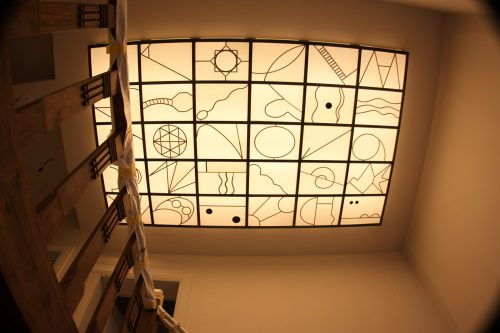 Skylight with a story.