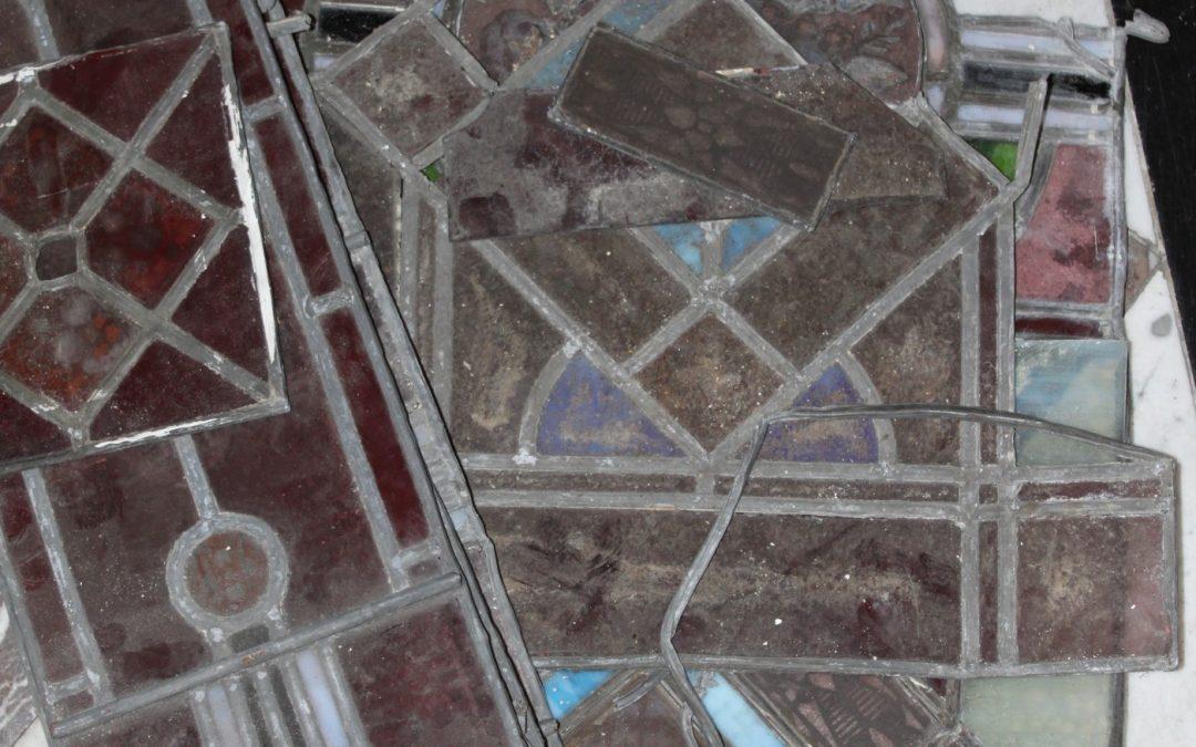 Nieuw leven voor oud glas in lood raam