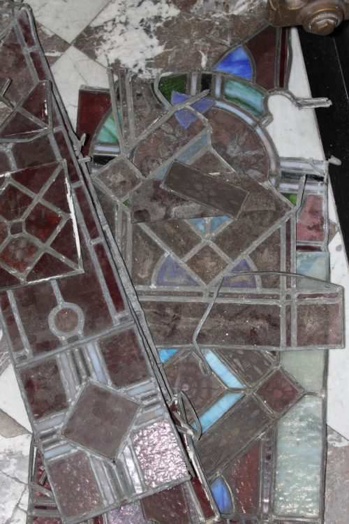 A new life for an old stained-glass window