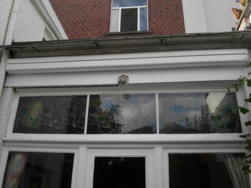 From single to double glazing